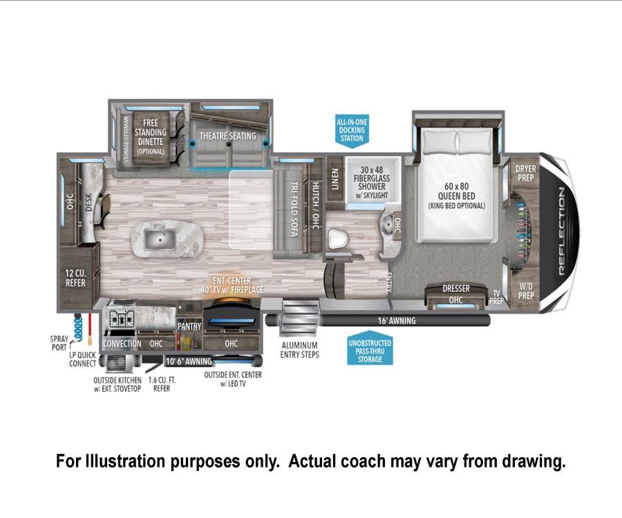 2020 Grand Design REFLECTION 5TH