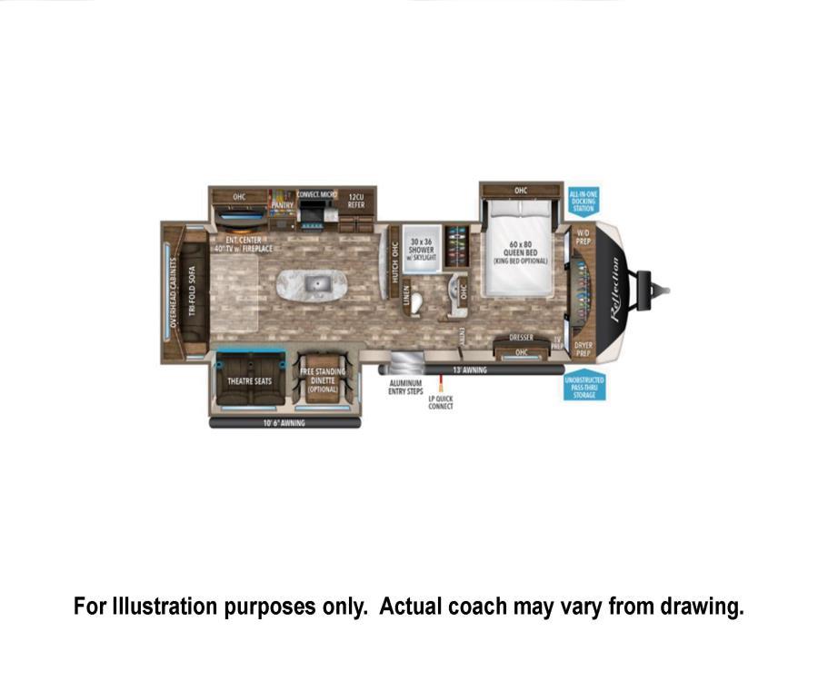 2018 Grand Design REFLECTION TRAILER